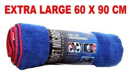 Car Drying Towel Microfibre Extra Large 60 x 90cm