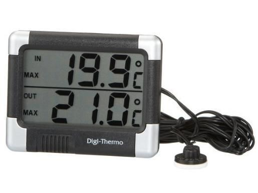 Car Thermometer In/Out Large Digital Display (CP12)