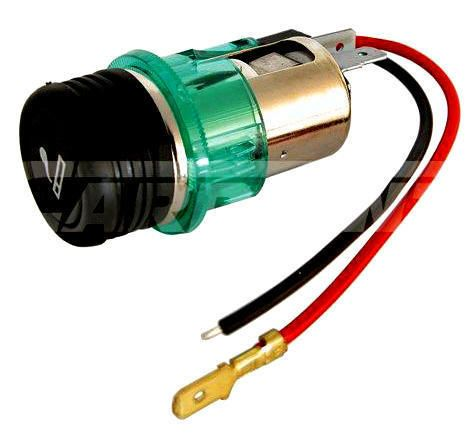 Illuminated Car Cigarette Lighter Socket Universal 12v