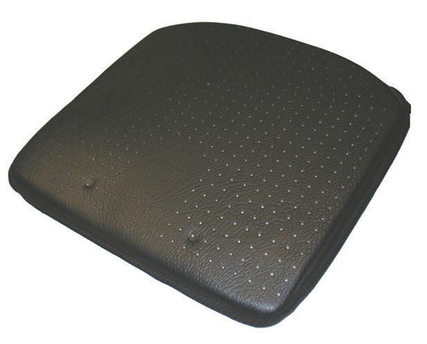 Luxury Wedge Car Cushion Leather Look Improves Height