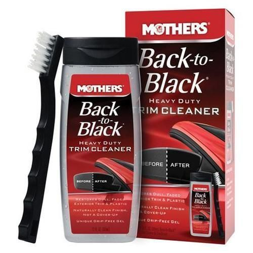 Mothers Naturally Back To Black Trim Cleaner Kit