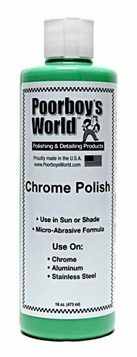 Poorboys Chrome Aluminium & Stainless Steel Polish 473ml