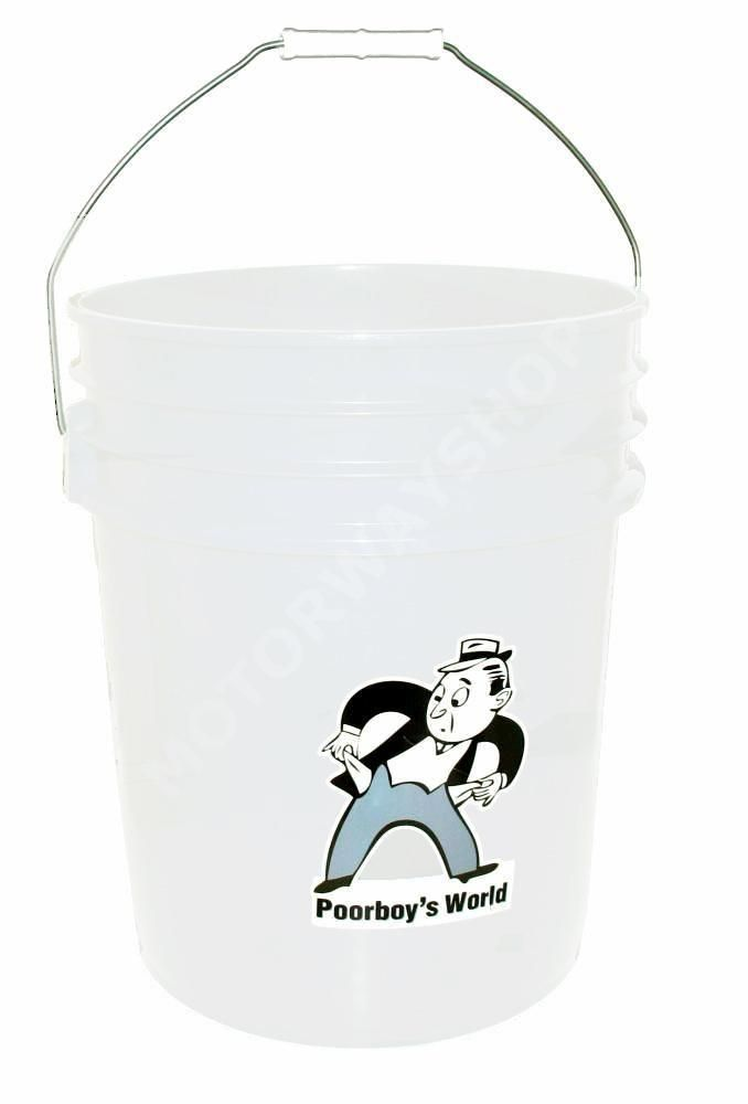 Poorboys World 5 Gallon (18.9 Litre) Bucket