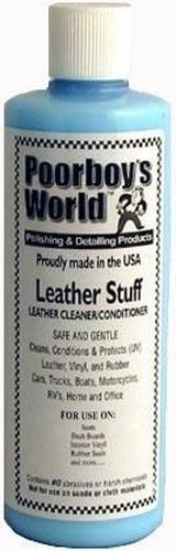 Poorboys World Leather Stuff Cleaner & Conditioner 16oz