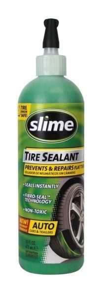 Slime Car Tyre Sealant Flat Tire Puncture Repair 16oz