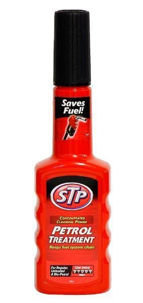 STP Petrol Fuel Treatment Cleaner Keep System Clean 200ml For Car Bike Van 4x4